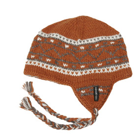 DANISH EARFLAP NAVY/ORANGE