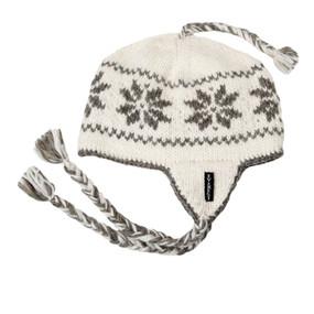 SNOWFLAKE EARFLAP WHITE