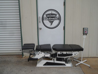 Used Elite Auto Flexion Chiropractic Table - Cervical and Pelvic Drops