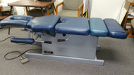 Reconditioned Hill HA90C electric elevation Chiropracic table with Pelvic drop