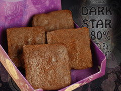 80% Dark Chocolate Brownies