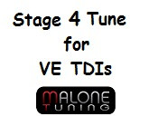 Malone Stage 4 Tune for VE TDIs (VE-Stage4)