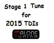 Malone Tuning - Stage 1 Tune for 2015 Golf and Jetta CR TDI