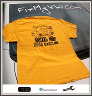 100,000+ Miles....Zero Gasoline! Yellow Shirt