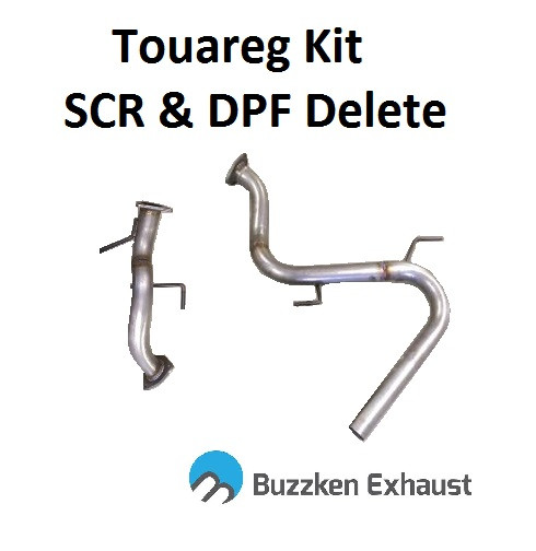 VW Touareg DPF and SCR Delete Kit by BuzzKen