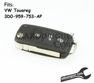Genuine VW Touareg Key FOB - 3D0-959-753-AP-ROH (3D0959753AP)