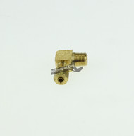 "Easy-Align Brass Compression Tube Fitting, 90 Degree Elbow for 1/8"" Tube OD X 1/8 Male Pipe-1"