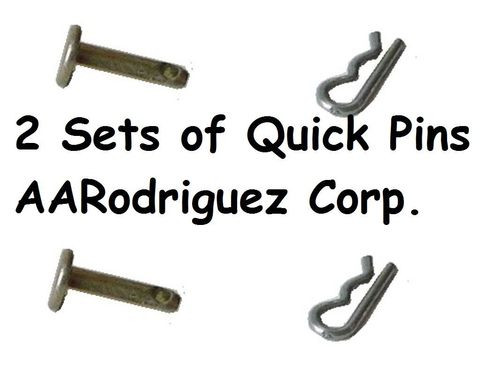 Quick Pins for VW Hood Latch Pull Handles (2 sets)