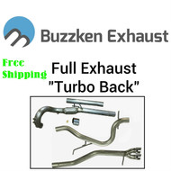 BuzzKen CR TDI - Full Exhaust Kit (2009-2014) Golf / Jetta / JSW / New Beetle