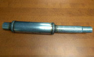 BuzzKen CR Midpipe Pipe - With Resonator - Reduced to stock catback