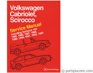 Brand New Volkswagen Cabriolet, Scirocco Service Manual