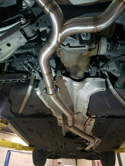 scr delete kit bmw 335d pampl exhaust