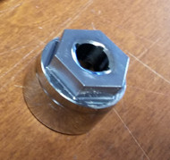 Pass through socket for BMW M57 Alternators