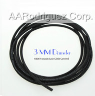 Cloth Covered Vacuum Hose - 3mm for all VW & Audi Engines