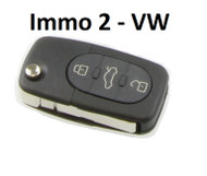 VW Key Fob for Early MK4 - Immo 2 (1J0959753F)