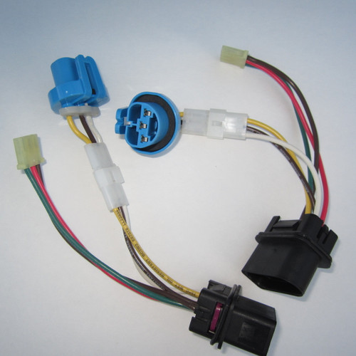 upgraded headlight wiring harness vw mk4 jetta 2 pack