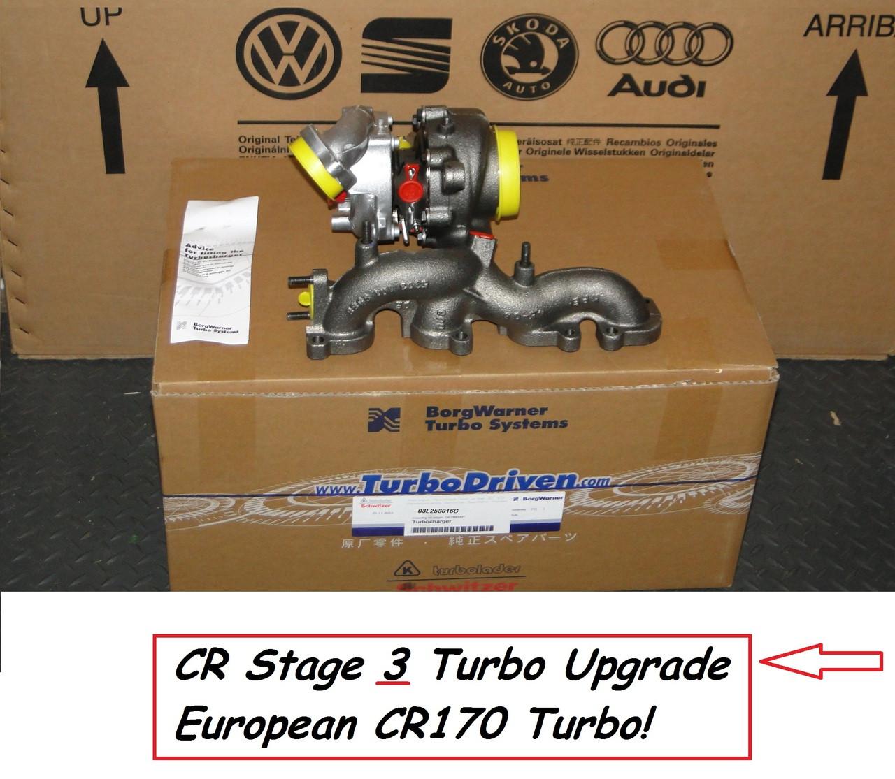 Vw Jetta Twin Turbo Kit: CR170 Turbo