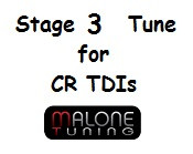 Malone CR TDI - Stage 3 Tune