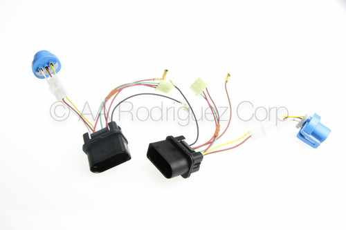 Brand new complete jetta headlight wiring harness