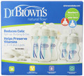 Dr. Brown's Natural Flow Wide Neck Newborn Feeding Set BPA Free
