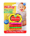 Nuby Play Links Teether (Ages 3M +)