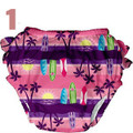 Iplay - Mix And Match Ultimate Ruffle Swim Diaper - Girl