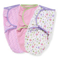 SwaddleMe Adjustable Infant Wrap 3 pack Girl