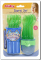 Nuby 9 Piece Fork and Spoon Travel Set