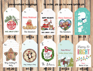 Personalized Hangtags