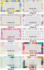 Rectangular Gift Tags