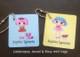Lalaloopsy Jewel & Rosy mini tags