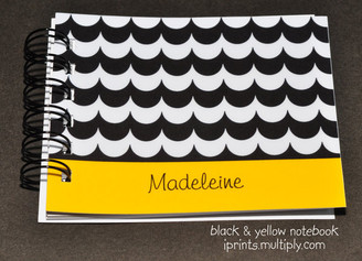 Black & Yellow notebook