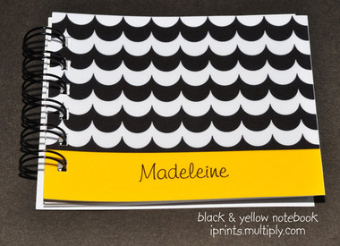 Black & Yellow notebook