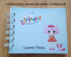Lalaloopsy Jewel Sparkles notebook