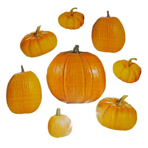 large pumpkin cut outs 50package 22 each - Large Plastic Pumpkins
