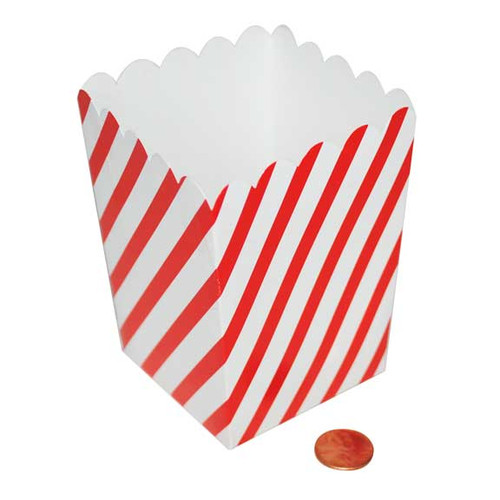 mini carnival candy or popcorn box