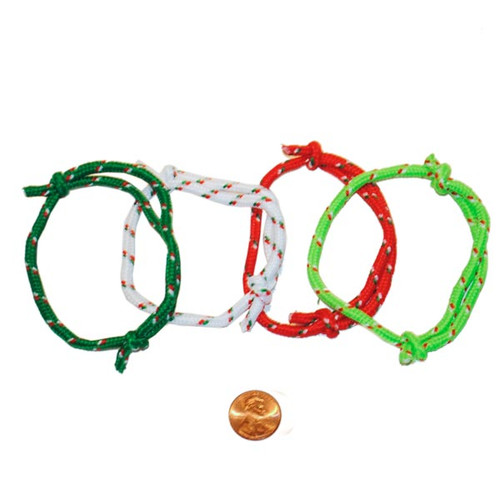 Christmas Colored Friendship Bracelets Wholesale
