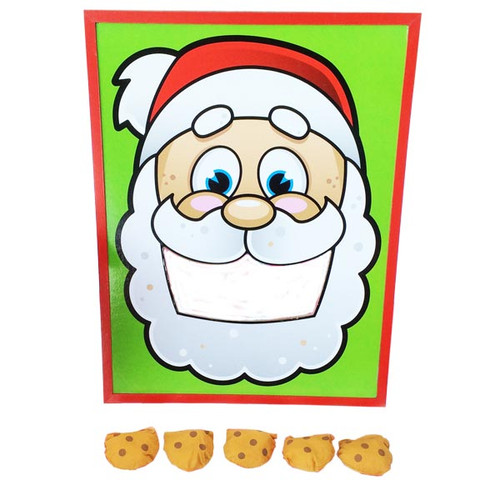 santau0027s cookies bean bag toss game - Bean Bag Toss Game