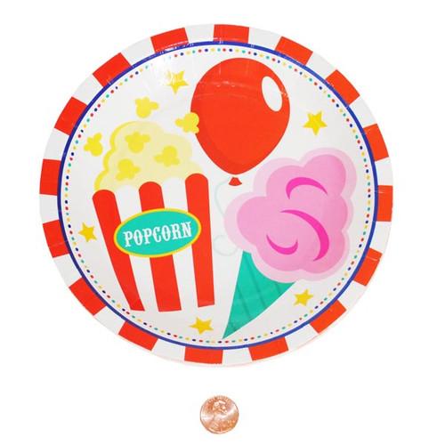 Paper Carnival Dessert Plates