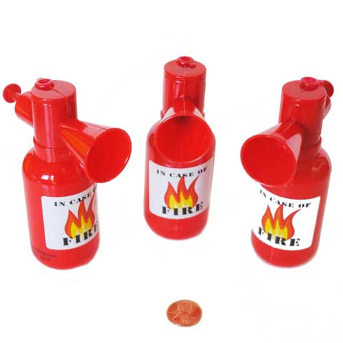 Fire Extinguisher Water Squirt Toys