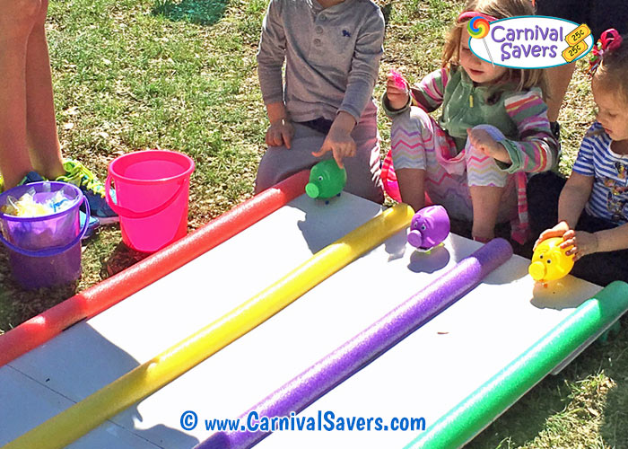 Free game ideas diy carnival games pig races for Fall outdoor activities for adults