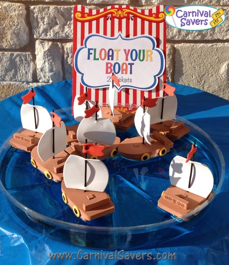 Float Your Boat Carnival Game Idea