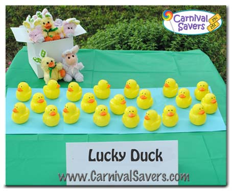 Pop Up Paint Booth >> Lucky Duck Carnival Game