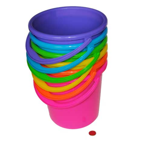 Carnival games flower power for Small pail buckets