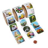 Easter Sticker Roll Set 300 Total Spring Stickers