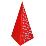 Red Cardboard Lollipop Tree
