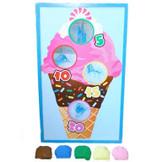 Ice Cream Bean Bag Toss Game ($14 set)