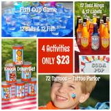 Backyard Carnival Games and Activities Set