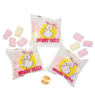 Marshmallow Bunny Tails Candy Packets