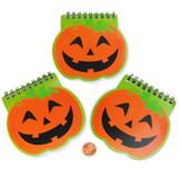 Mini Pumpkin Spiral Notepads